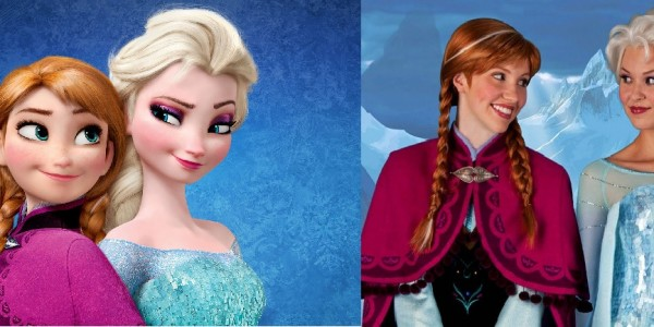 Disney Characters as Fashion Icons