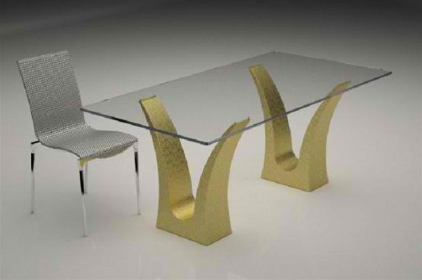 Modern-glass-top-coffee-and-dining-tables-with-colored-bases-1-554x369