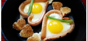 Creative ways to make fried eggs