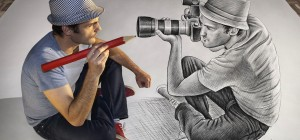 Masterpiece artwork from Ben Heine