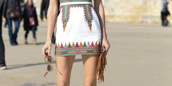 Paris Fashion Week: Street Style Spring 2014