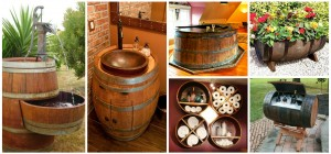 17 Awesome Ideas How To Use Old Wine Barrel