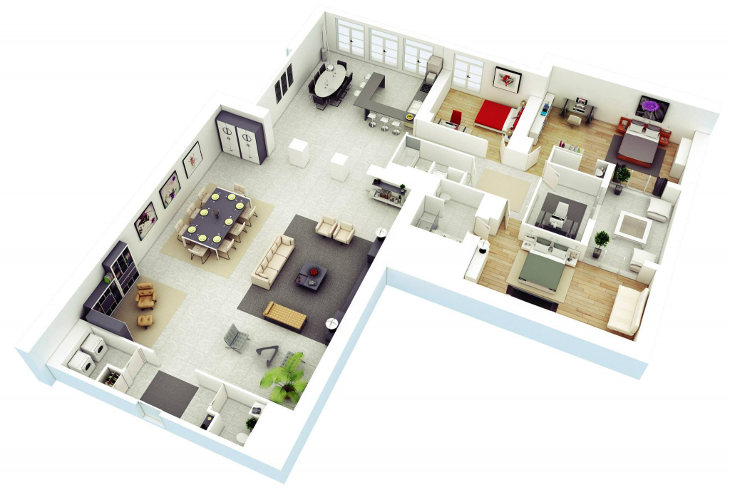 Design Your Future Home With 3 Bedroom 3D Floor Plans on 3d house blueprints, best 3 bedroom house plans, beach 3 bedroom house plans, 1 story 3 bedroom house plans, 4-bedroom modular floor plans, apartment 2 bedroom house plans, 3d bedroom cartoon, ghana 3 bedroom house plans, single story 3 bedroom house plans, modern small house plans, loft house plans, 3d bedroom design, 1200 sq foot 2 bedroom house plans, 3 bedroom 1 floor plans, 3d cartoon house, 3d 2 bedroom narrow home, 3-bedroom ranch house plans, google tiny house plans, three bedroom country house plans, 3 bed 2.5 house plans,
