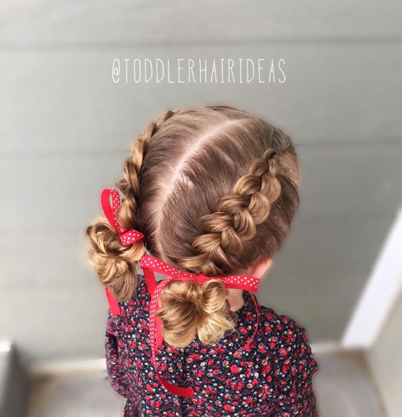 little girls dutch braid