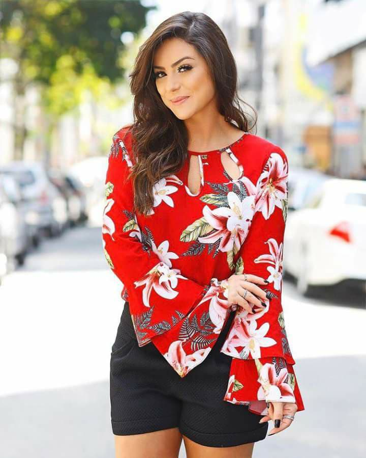 modern blouse