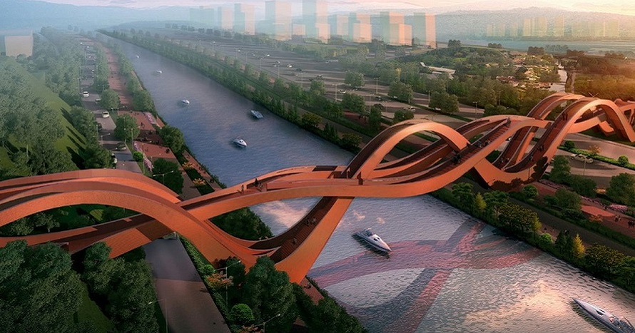 Just Amazing Pedestrian Bridges Around The World