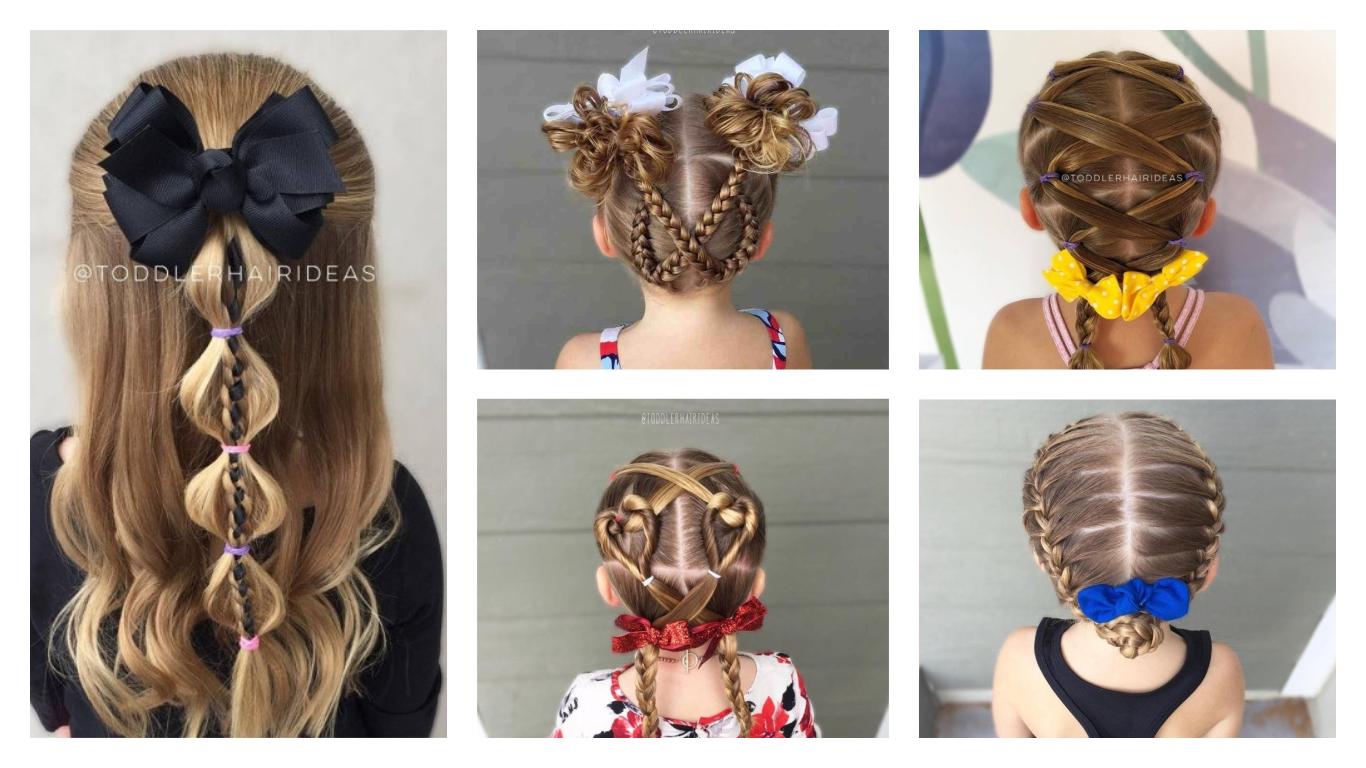Fancy School Hairstyles For Little Girls