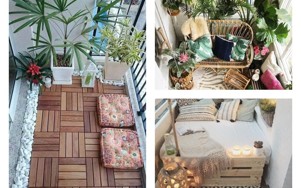Give Spectacular Touch to Balcony Design