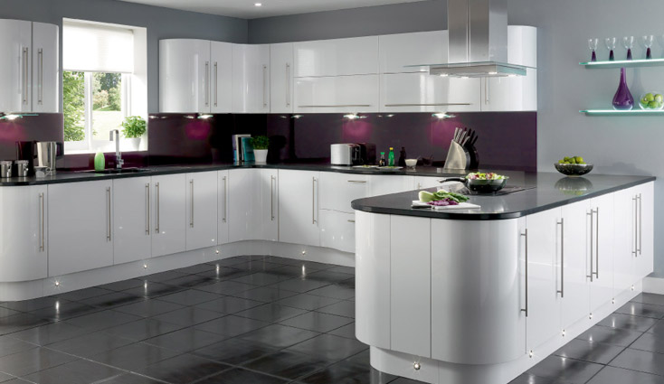 Have A Look In These Adorable Gloss Kitchen Ideas