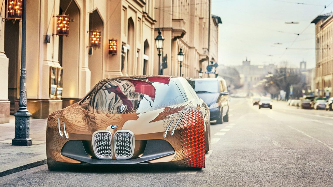 BMW Vision Next 100 Self-Driving Mode