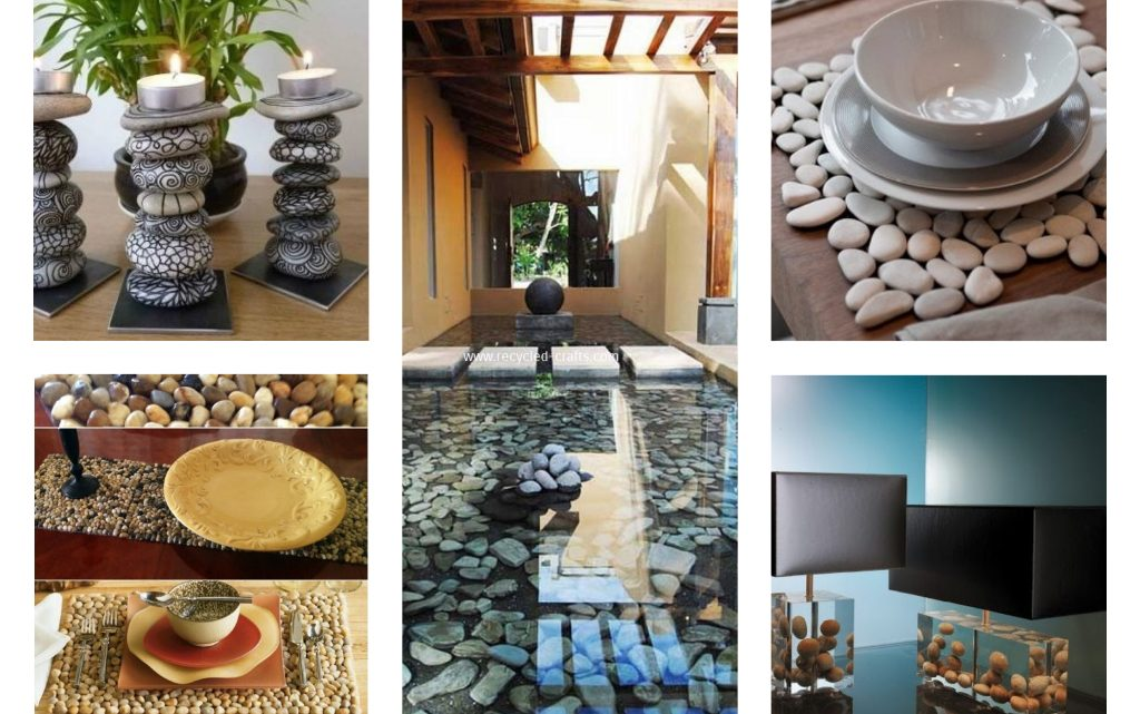 Creative DIY Pebble Home Decor to Beautify Your Life