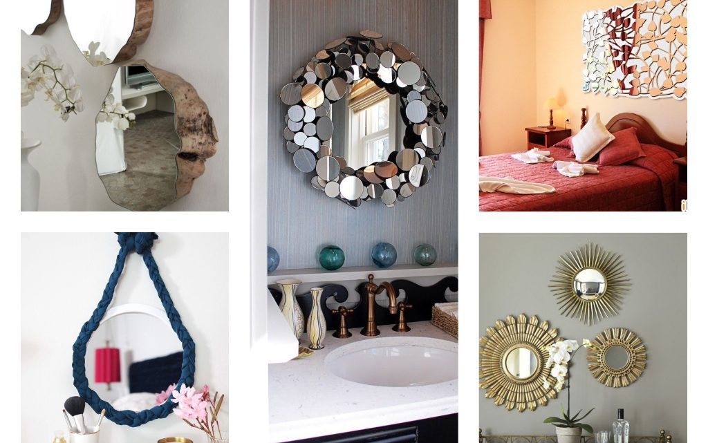 Decorate the House Walls With Lovely Mirror Design