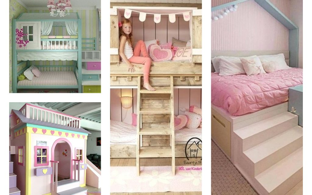 Cute Bunk Bed Ideas for Girl's Kids Room