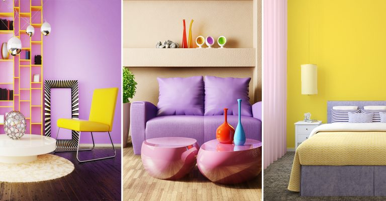 pastel shades in interior