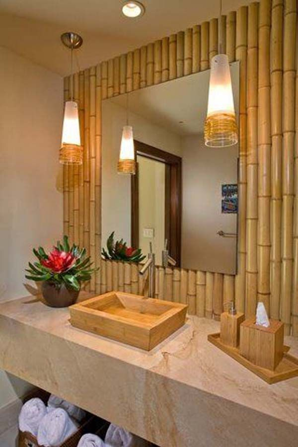bamboo decoration