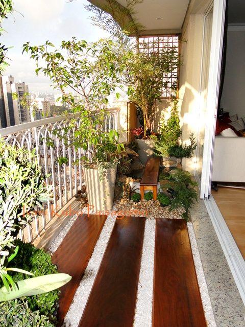 wooden deck in balcony flooring