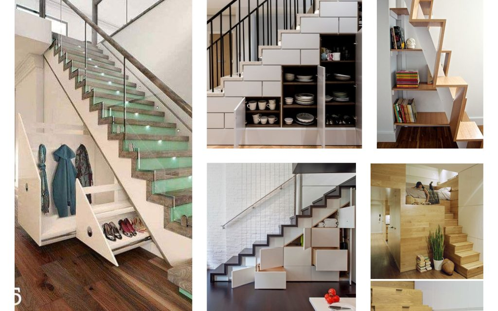 Amazing Under The Stairs Storage Ideas