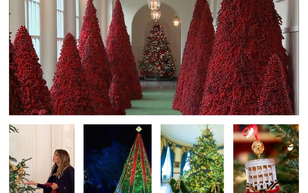 White House Christmas Decor 2018
