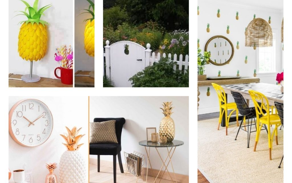 The Cutest Pineapple Home Decor