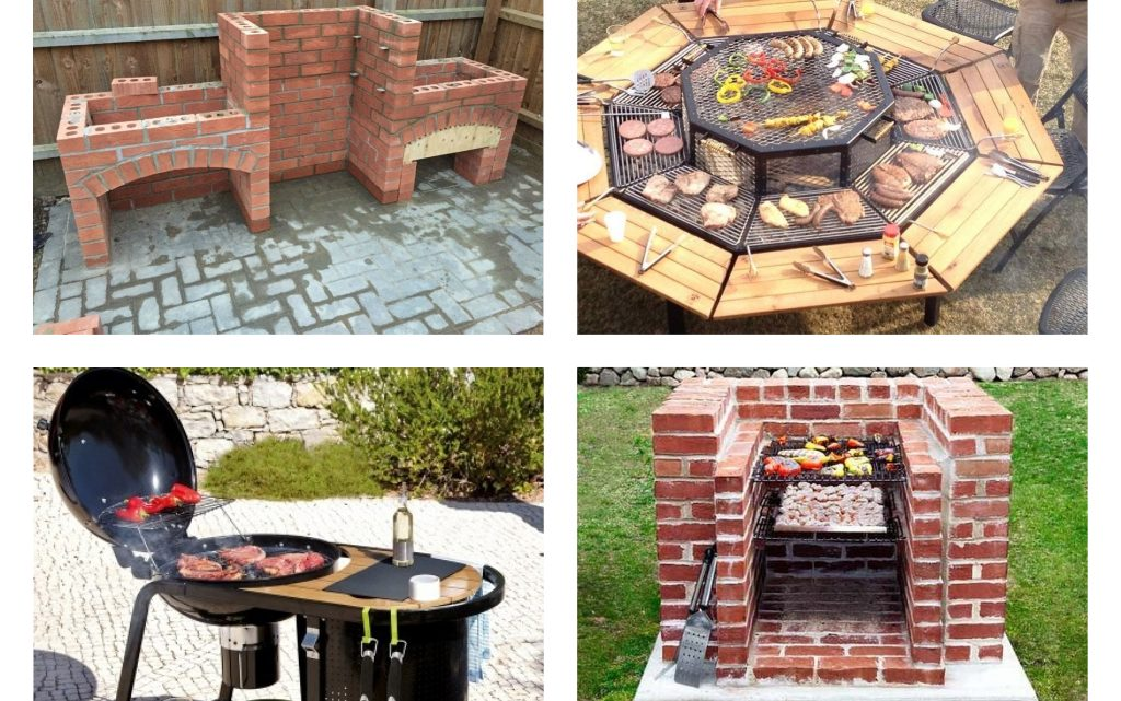 Outdoor Barbecue Grill Designs
