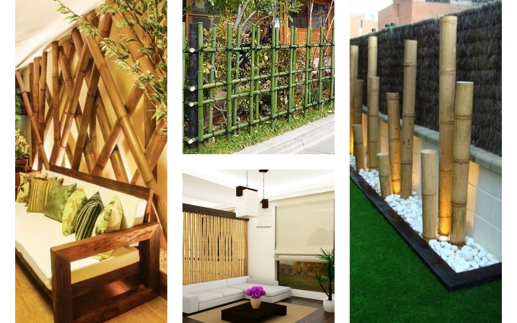 DIY Bamboo Decor And Beautify The House