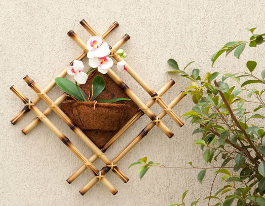 bamboo wall decor