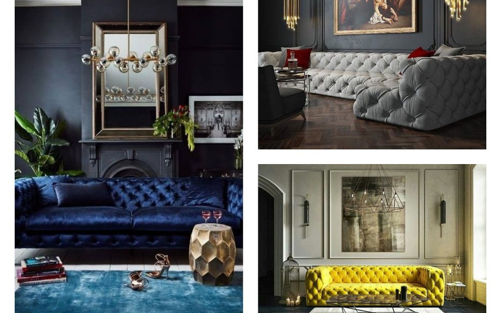 Wonderful Tufted Sofa Design