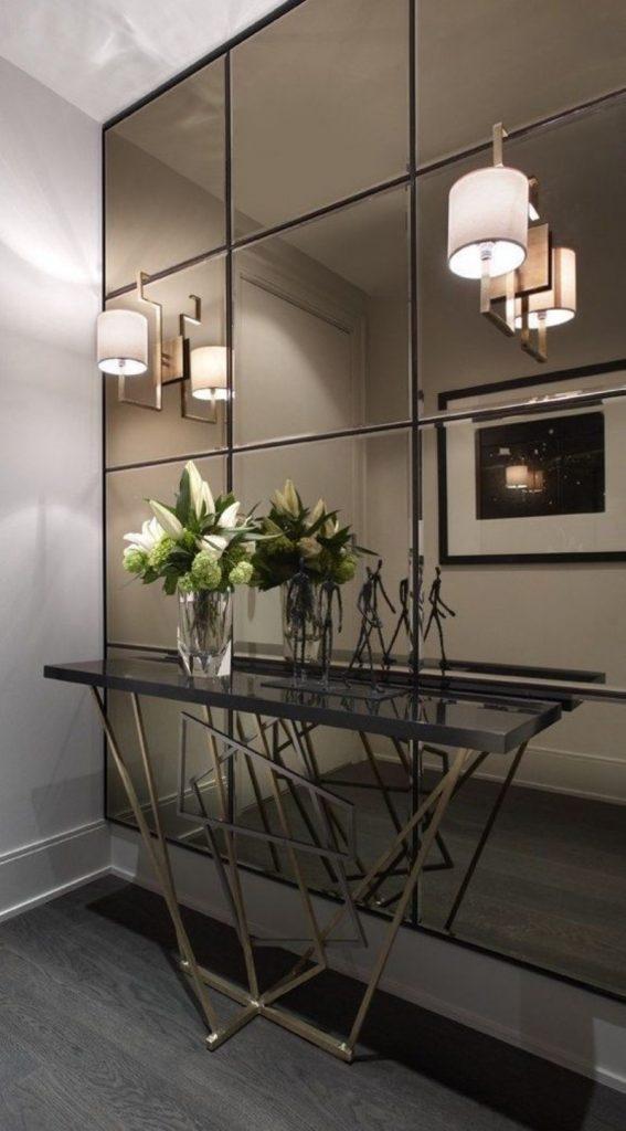 mirror wall design