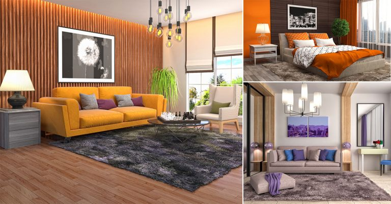 Home Decoration With Large Wall Art