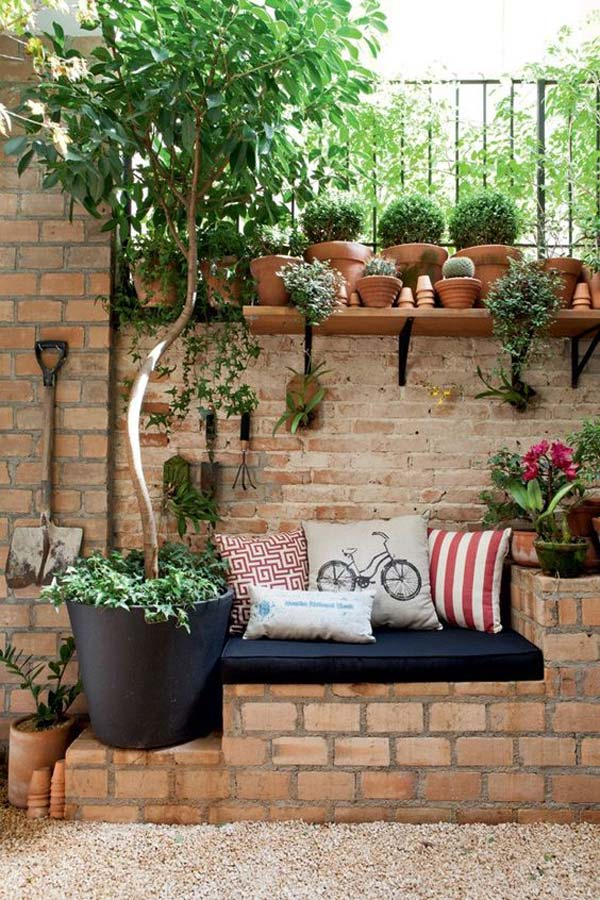 Amazing Bricks Garden Ideas To Drive You Crazy Gmtry Best Dining Table And Chair Ideas Images Gmtryco