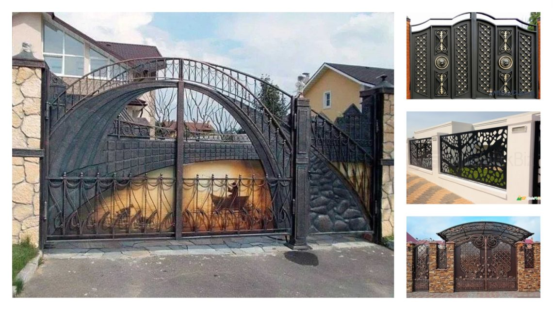. Protect Your Home With Contemporary Gate Design