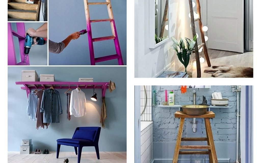 Creative Ways to Reuse The Old Ladder