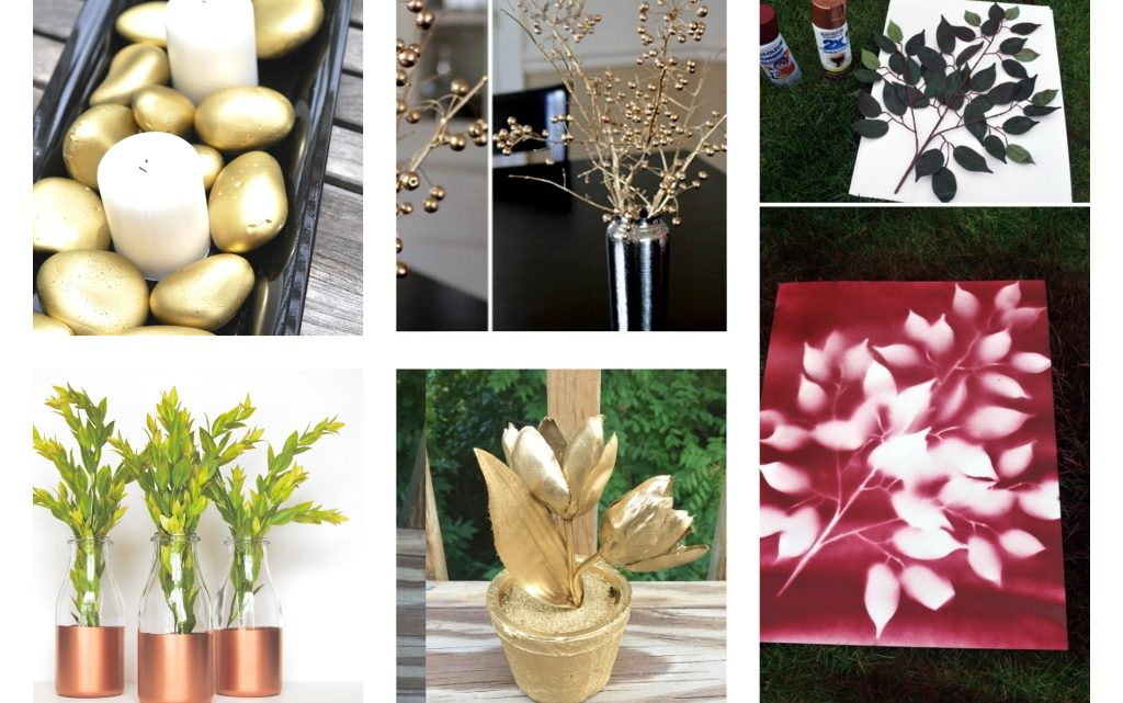 Surprising DIY Spray Paint Decoration Ideas