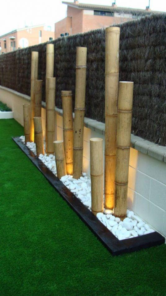 DIY bamboo decor