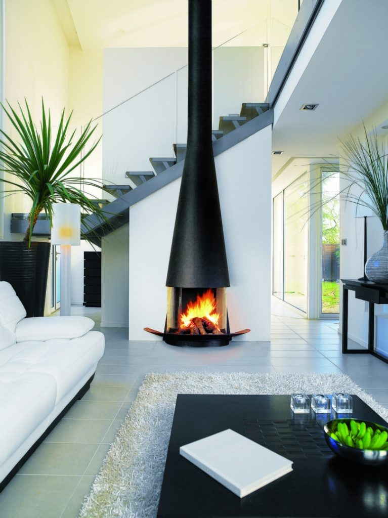 good looking fireplace