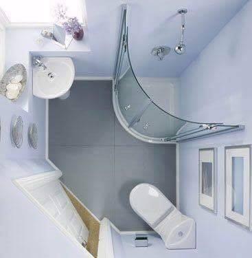 corner bathroom