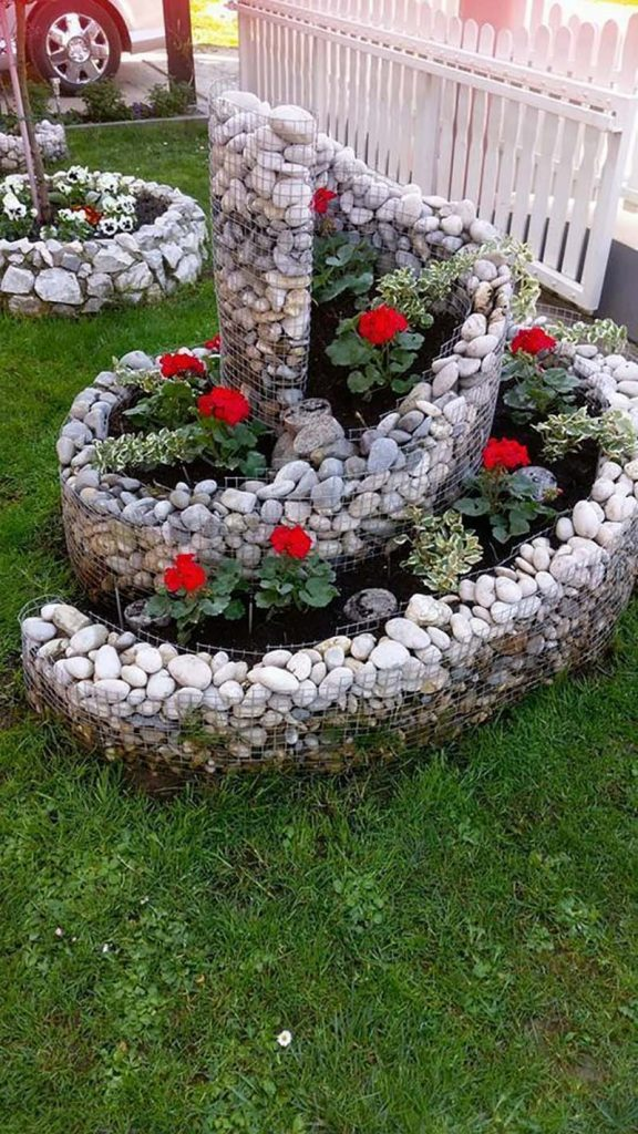 raised bed spiral garden