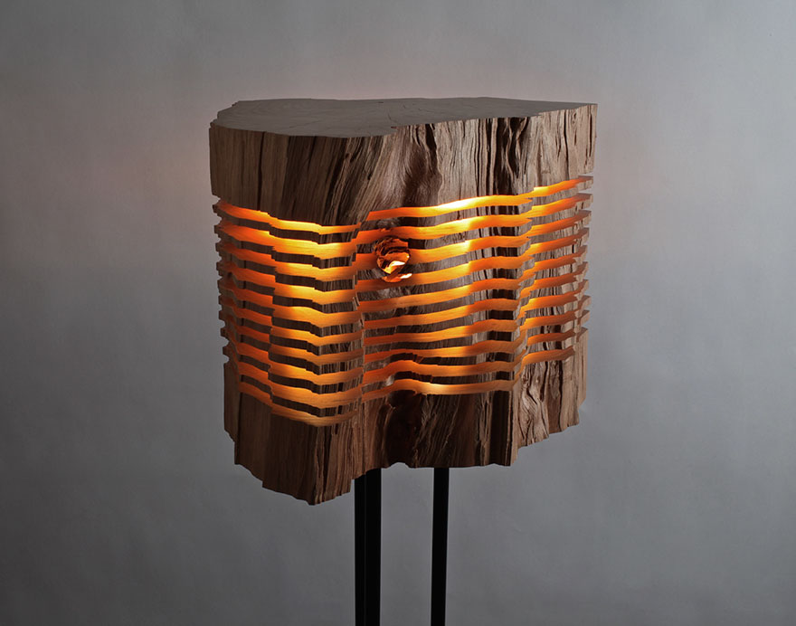 sliced lamps