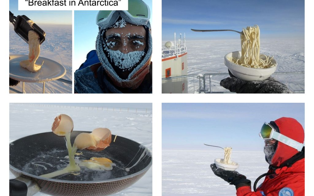 This Will Happen If You Cook Breakfast in Antarctica at -70ºC