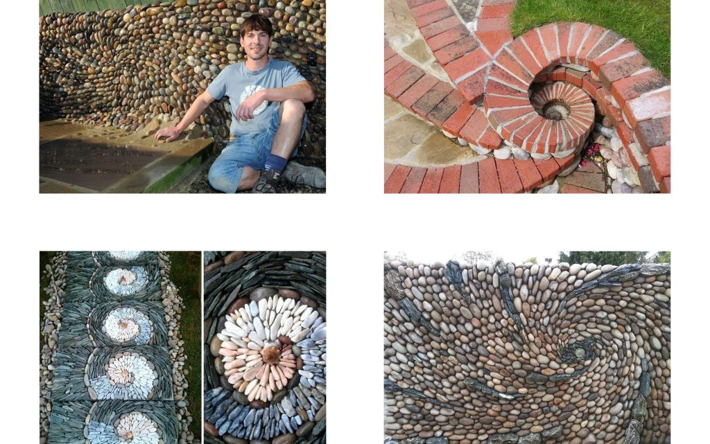 Creative Bricklayer Transforms Stones Into Art