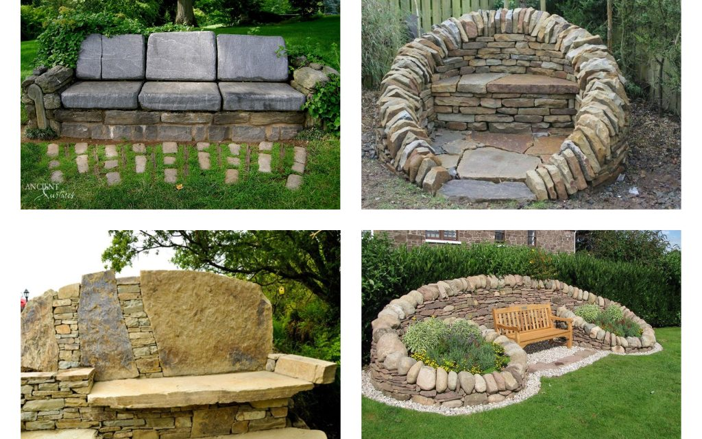 Have a Look In Stunning Stone Benches