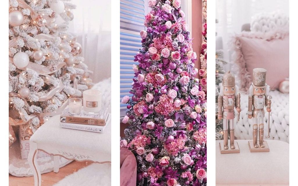 Christmas Decoration in Pink