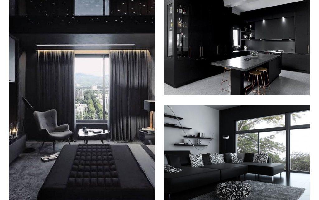 Dreamy Black Interior Design