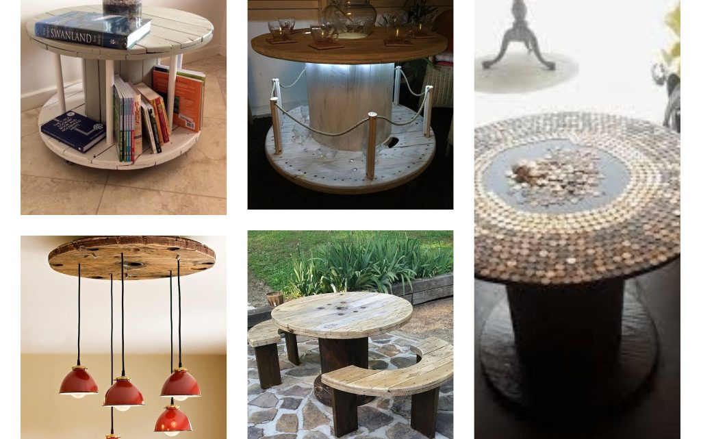 Amazing Ideas About How to Repurpose the Cable Spools