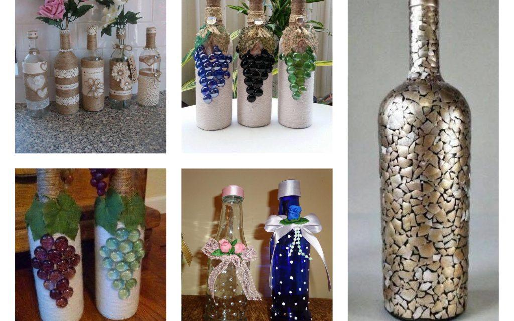 Creative Ways of Wine Bottles Reuse