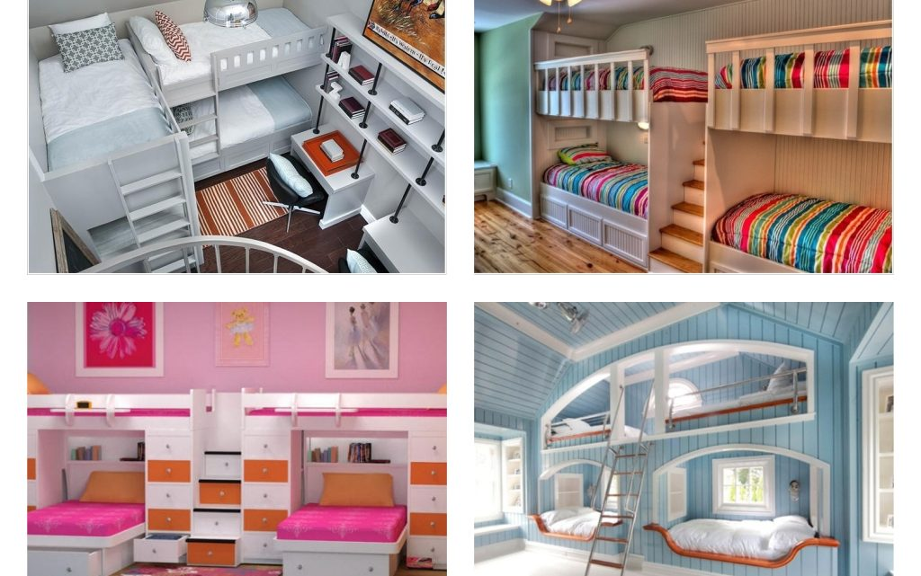 Amazing Ideas About Designing a Room For Four Kids