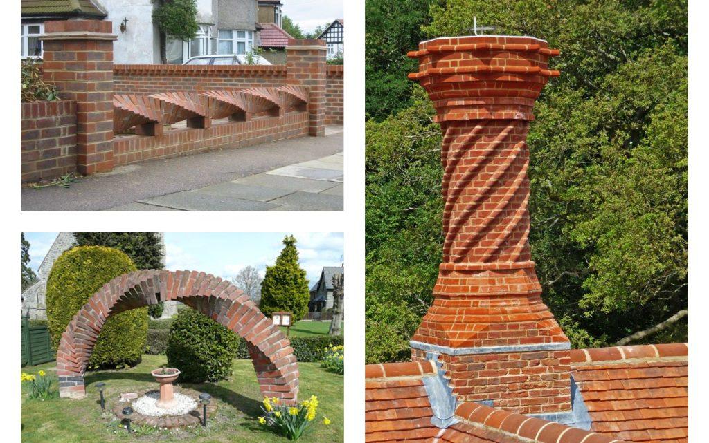 Amazing Twisted Bricks Art