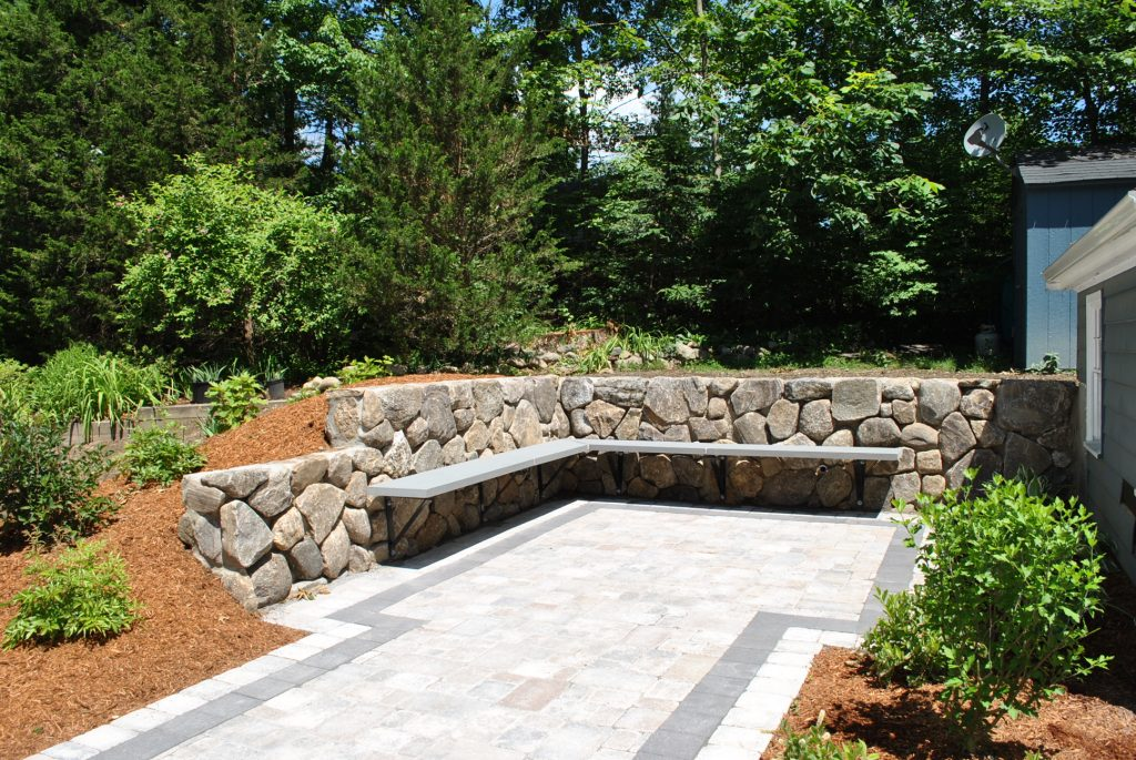 natural stone sin garden decor