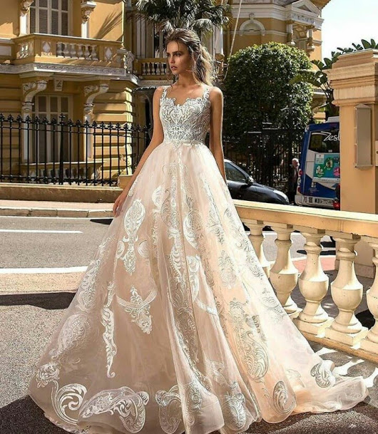 wedding dress modern