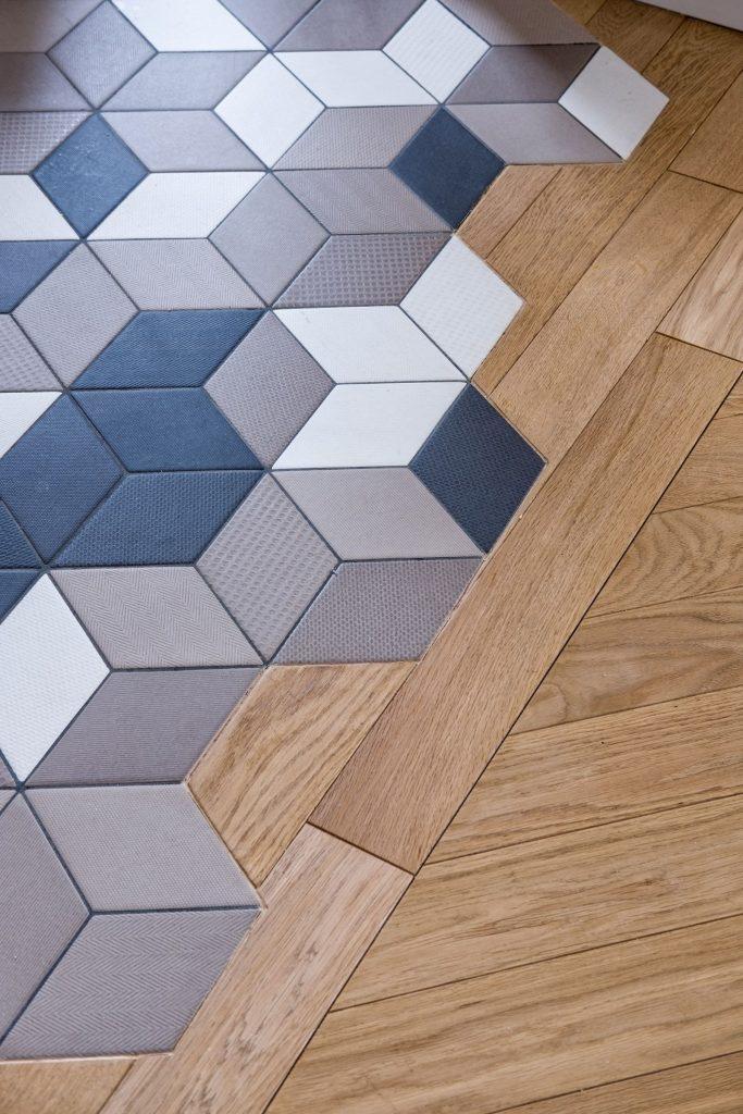 parquet tile combination